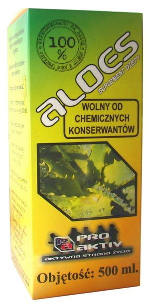 ALOES (SOK BEZ CHEMICZNYCH KONSERWANTÓW) (500 ml)