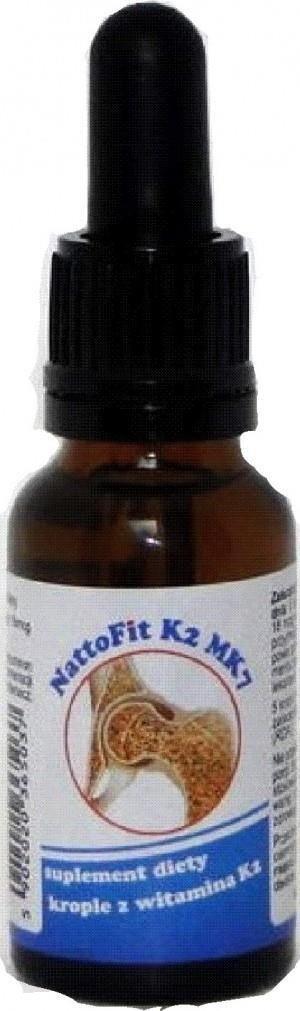 Witamina K2 NattoFit MK-7 20 ml