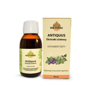 Antiquus, ekstrakt ziołowy 90 ml
