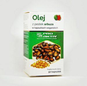 Olej z dzikiej róży 90 kapsułek Pro Aktiv
