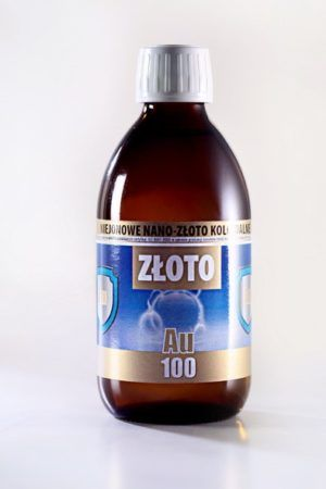 ZŁOTO KOLOIDALNE AU 100 (300 ml)