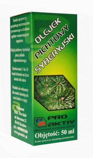 Olej pichtowy syberyjski 50 ml