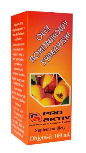 Olej rokitnikowy syberyjski 100 ml