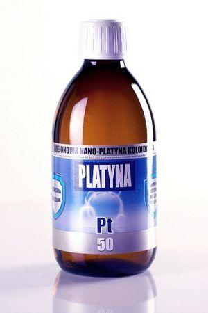 NANO-PLATYNA KOLOIDALNA PT 50 (300 ml)